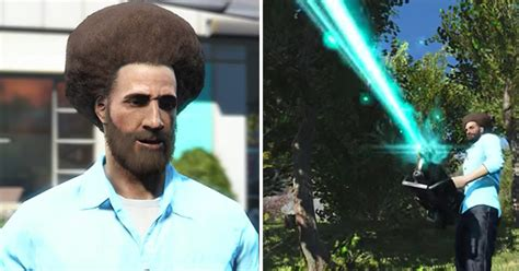 Would You Play The Bob Ross Video Game Funny Video