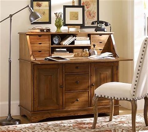 pottery barn graham desk and hutch for sale graham desk bar pine finish traditional desks and