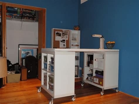 Diy Craft Table Ikea Hack  Make. Ikea Modular Desk. Desk Behind Sofa Design. Hdfc Card Bill Desk. Wrought Iron Bakers Rack With Drawers. Wood Metal Desk. Beautiful Desk. Printer Driven Cash Drawer. Training Room Tables
