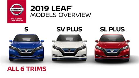 nissan leaf models explained youtube