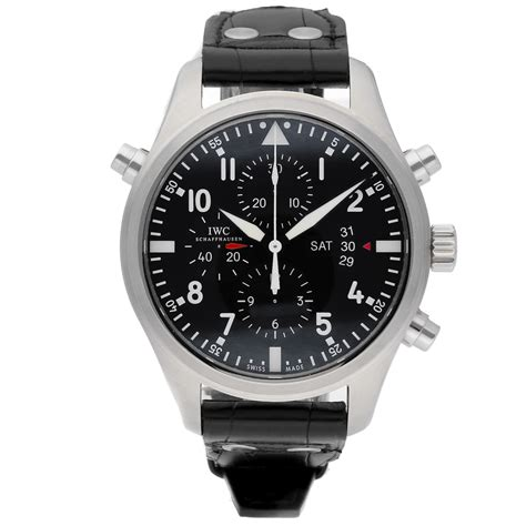 Iwc Pilot's Watch Double Chronograph Iw3778-01