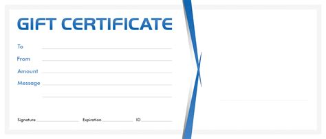 Gift Certificate Template Business Gift Certificate Template Business Letter Template