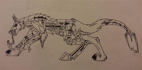 Demon Robot Dog By 1rootbeer On Deviantart