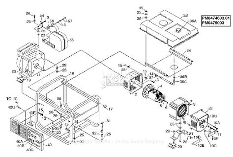 Powermate Formerly Coleman Parts Diagram For