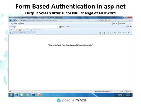 forms based authentication asp net parallelminds asp net for sharepoint formbasedauthentication