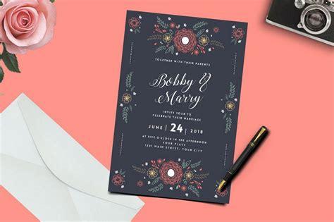wonderful wedding invitation card design samples