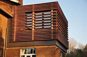Bardage Fibre Ciment : construction avec bardage en panneaux de fibre ciment et ~ Farleysfitness.com Idées de Décoration
