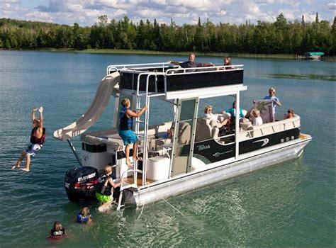 Pontoon Boats With Slides by Pontoon Houseboat Craigslist Related Keywords Pontoon
