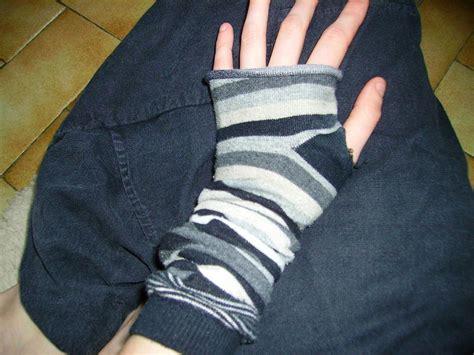 fingerless gloves   socks     pair