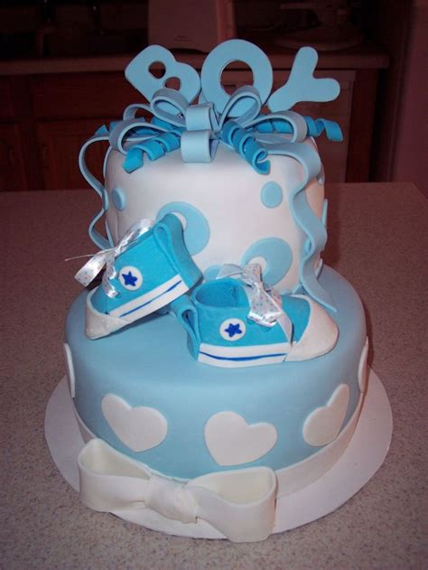 baby shower cake boy baby shower cake boy i made this for a friend who was