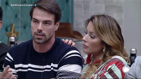 Leandro e JP discutem durante votação da DR - Power Couple ...