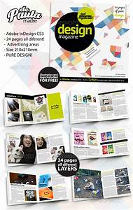 design magazine indesign template by depautamadre With adobe indesign magazine template download free