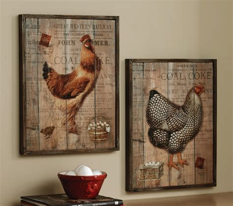 wall portray with rustic decor accent on reclaimed wood feats egg basket in entryway decorating