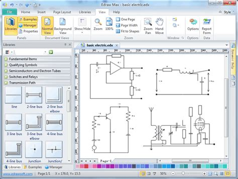 Electrical Diagram Software Create