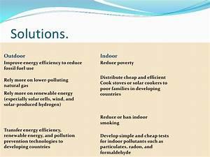 environmental pollution solutions essay