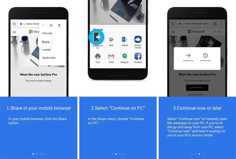 windows 10 insider build lets you link your android to your pc android central
