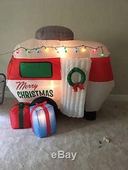 gemmy christmas animated airblown inflatable santa