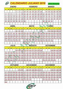 Calendario D?a Juliano 2016 Calendar Template 2018