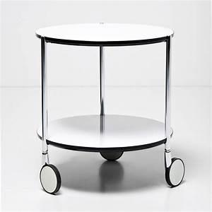 Couchtisch Mit Rollen Weiß : beistelltisch doppio dia 40cm couchtisch tisch mit rollen weiss ebay ~ Bigdaddyawards.com Haus und Dekorationen