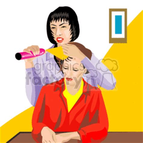 clip art people hair stylist   related vector