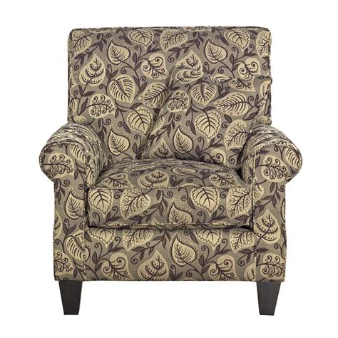 furniture accent chairs rolled arm accent