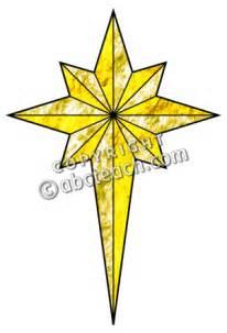 Christian Christmas Star Clip Art