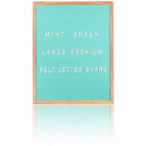 large premium felt letter board mint green iwoot With giant letter board