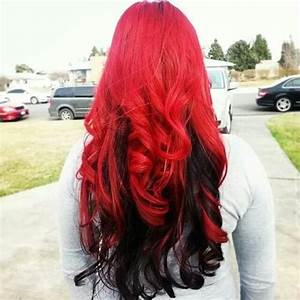 Diy Ombre Hair Black To Red DIY Projects