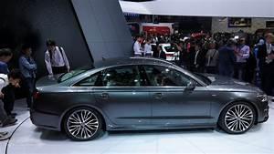 Audi Paris : 2015 audi a6 facelift comes out with matrix led headlights at paris car interior design ~ Gottalentnigeria.com Avis de Voitures