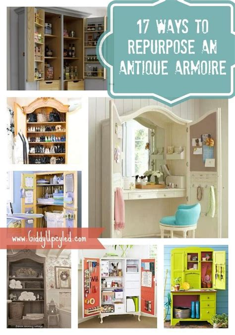 Upcycled Tv Armoire by 17 Ways To Repurpose An Antique Armoire Quot Hometalk