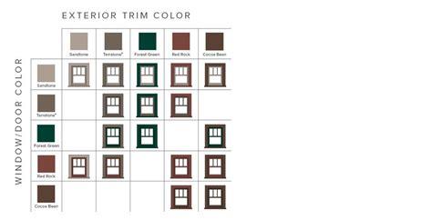andersen window colors andersen window color chart 1500 trend home design