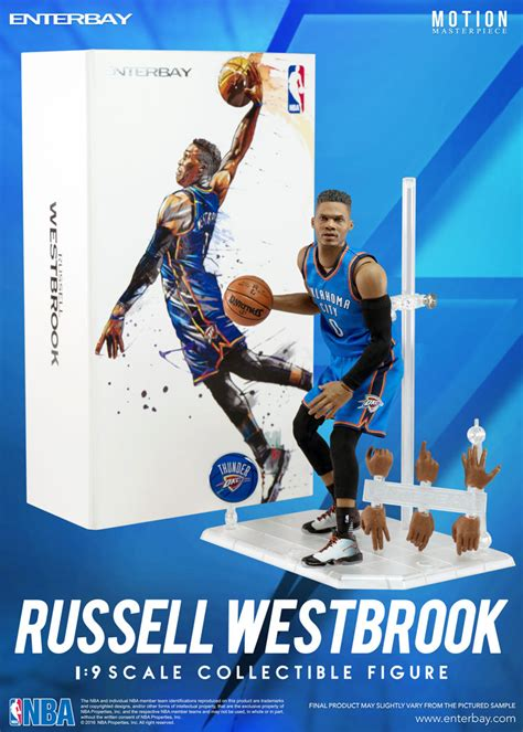 russell westbrook nba action figure  enterbay