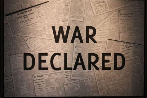 war declared abc news australian broadcasting corporation