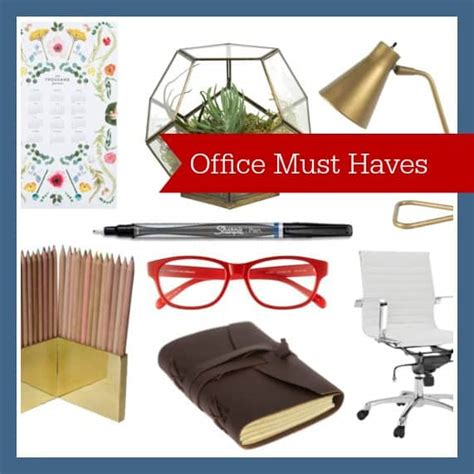 Office Desk Must Haves by 8 Office Must Haves Diy