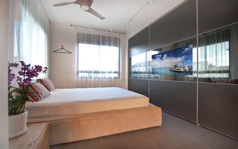 bedroom tv wardrobe design in kfar saba contemporary bedroom tel aviv by hardoor