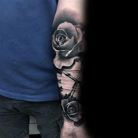 black rose tattoo designs  men dark ink ideas