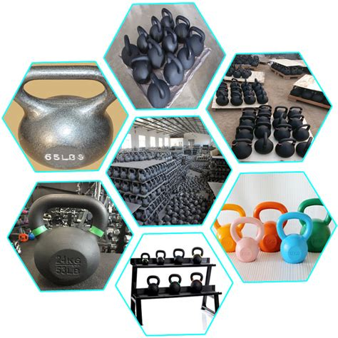 60kg kettlebell bodybuilding weights hand feature