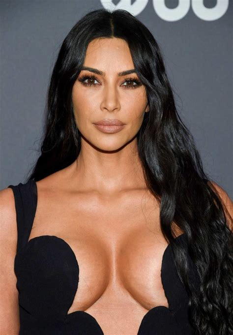 kim kardashian attends  amfar  york gala