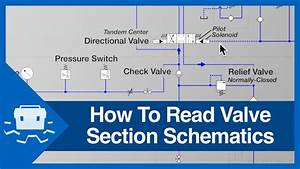 How To Read Valve Section Schematics