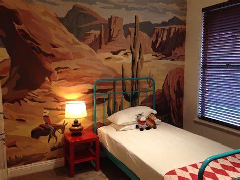 vintage cowboy  indian toddler room project nursery