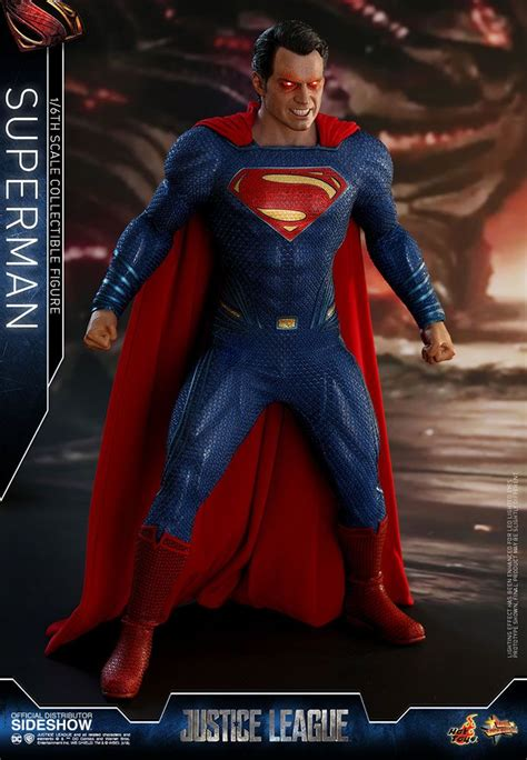 justice league  superman  scale hot toys