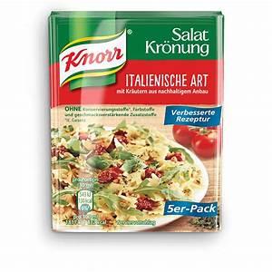 Knorr Salatkrönung Kartoffelsalat : salatkr nung vinaigrette knorr deutschland ~ Lizthompson.info Haus und Dekorationen