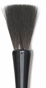 Luco black squirrel square brushes blick art materials for Luco lettering brushes