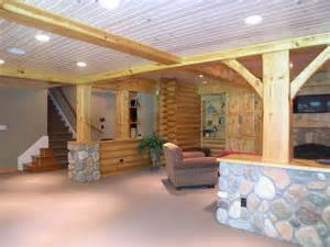 home plans with walkout basements log cabin basement remodel