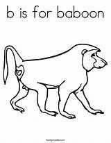 Baboon Coloring Worksheet Monkey Babuino Camel Starts Twistynoodle Login Favorites Draw Ll Noodle 886px 54kb sketch template