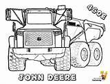 Coloring Construction Truck Deere John Dump Vehicle Tractor Yescoloring Hard Trucks Boys Vehicles Template Tractors Skidder Sheets Rock Colouring Printables sketch template
