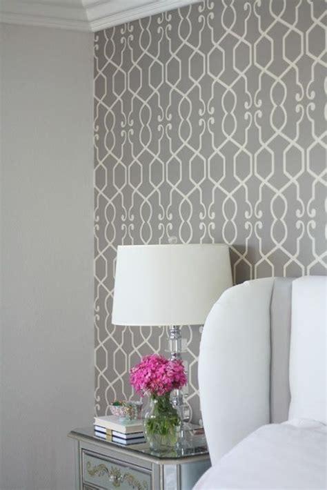master bedroom redesign  wallpaper  walls painted
