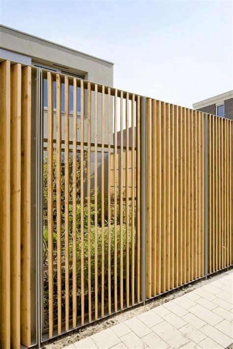 Moderne Häuser Ideen by Modern Fence Sichtschutz Zaun Ideen Zaun Garten Und