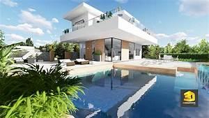 Perspective 3d D U0026 39 Une Maison Contemporaine