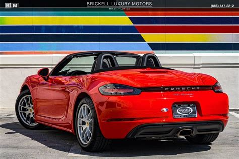 Research, compare and save listings, or contact sellers directly from 259 718 boxster models nationwide. Used 2019 Porsche 718 Boxster For Sale ($58,000) | Brickell Luxury Motors Stock #L3190